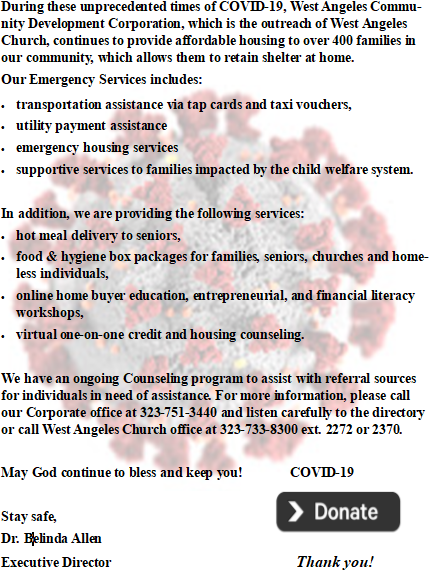 Covid 19 website info